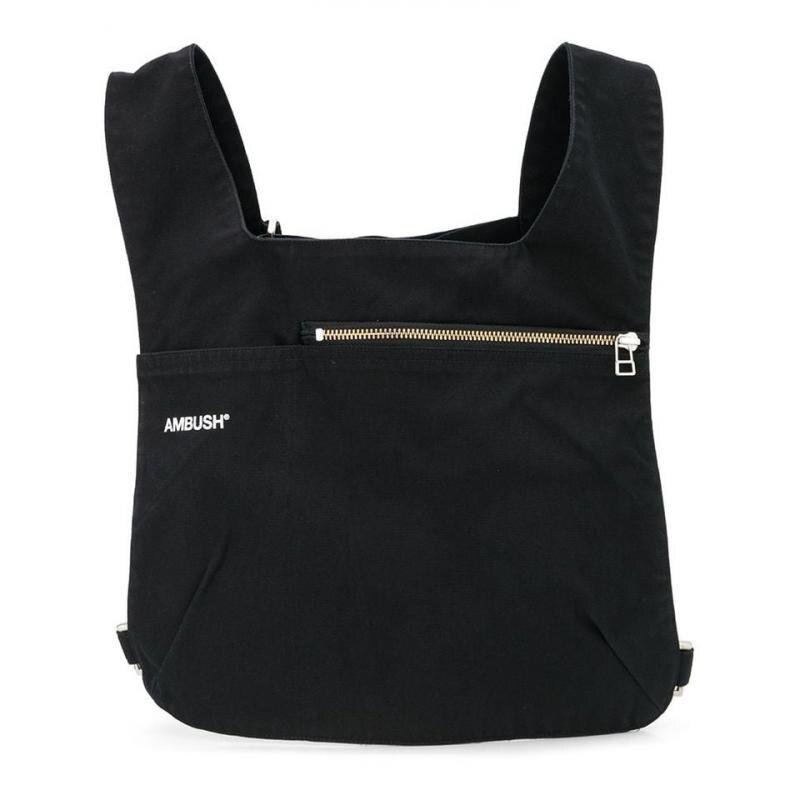 20ss Latest Hot Hip Hop AMBUSH Chest Rig Streetwear Functional Chest Bag Shoulder Men Women Fashion Bag