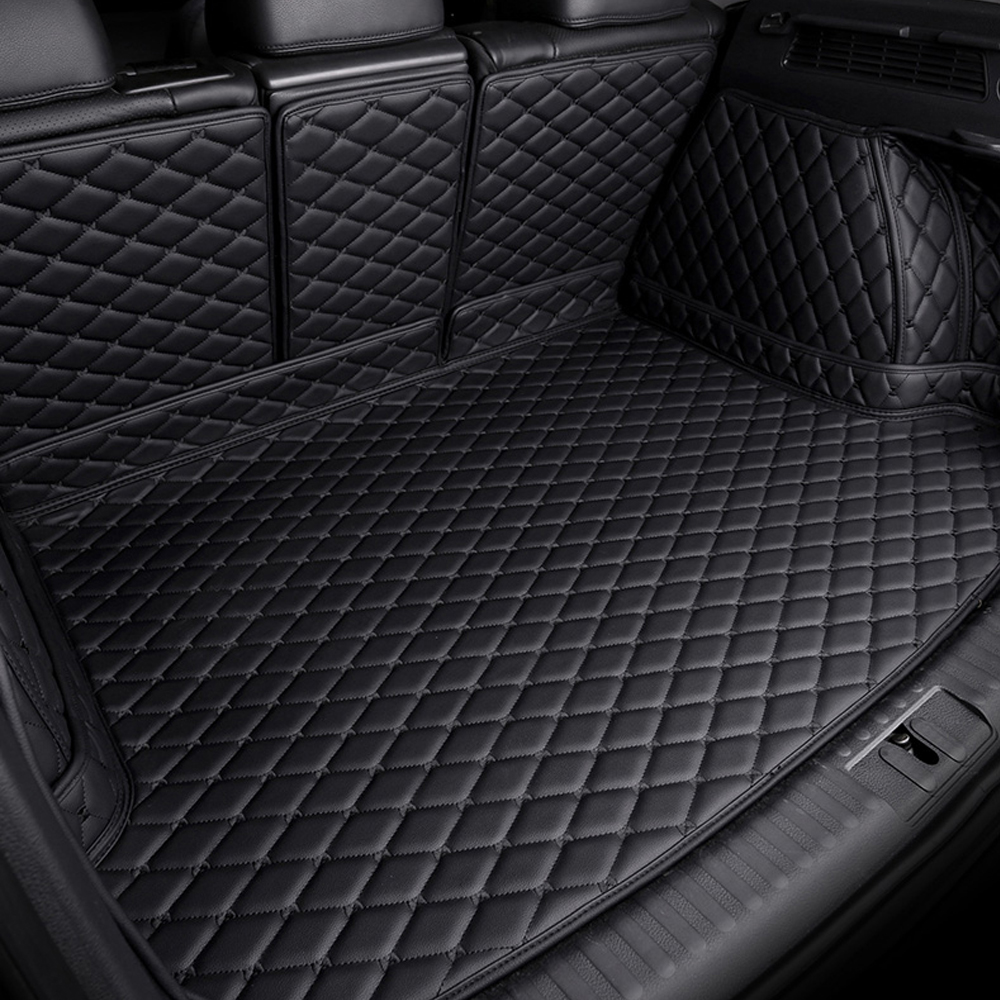 Custom Fit Car Trunk Mats For BMW 1 Series E81 E82 E87 E88 F20 F21 6D Heavy Duty Car-styling Carpet Floor Liners (2004- Now)