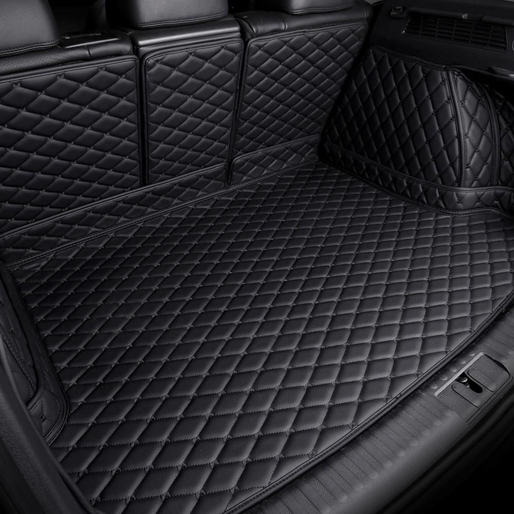 Custom Fit Car Trunk Mats For BMW 1 Series E81 E82 E87 E88 F20 F21 6D Heavy Duty Car-styling Carpet Floor Liners (2004- Now)