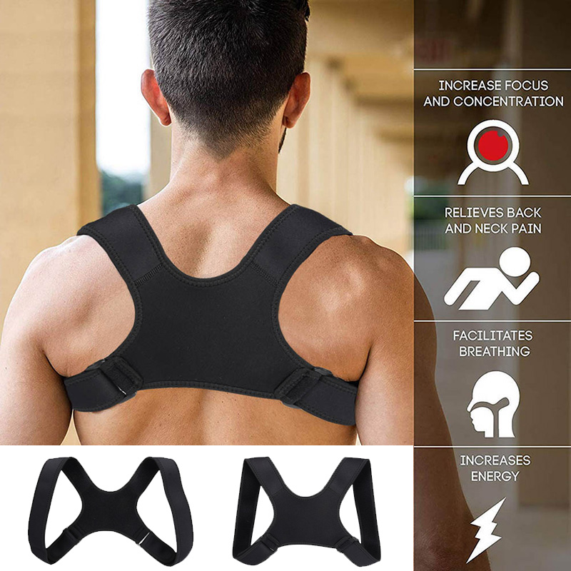 Top Luxury Hot Sale Posture Corrector Clavicle Fracture Support Back Shoulder Straighten Brace Belt EK-New
