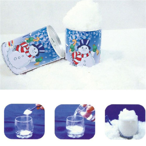 5//10 pack Fake Magic Instant Snow For Sensory Play Frozen Wedding Xmas Decor