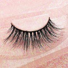1 pair 3D mink eyelashes natural handmade false eye lashes eyelash extension  for beauty #500