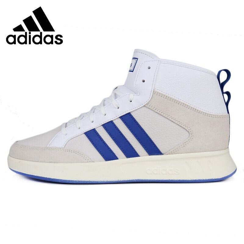 Galleria fotografica Nuovo Arrivo originale <font><b>Adidas</b></font> COURT80S MID Scarpe Da Tennis degli uomini Scarpe Da Ginnastica