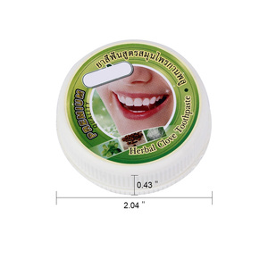 Image 5 - 10g/25g Herb Natural Herbal Clove Thailand Toothpaste Tooth Whitening Toothpaste Antibacterial Allergic Tooth Paste