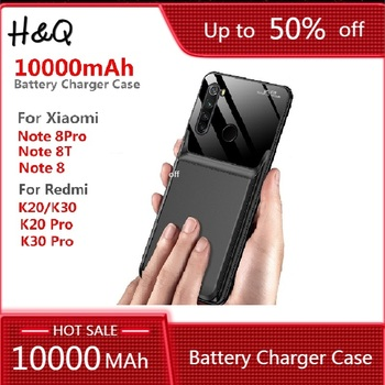10000Mah Battery Charger Case For Xiaomi Redmi Note 8T Note 8 8 Pro K20 K20 Pro K30 K30 Pro Battery External Backup Power Bank image
