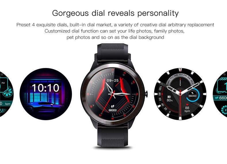 faixa de fitness multi-esportes smartwatch para ios android 2021 novo