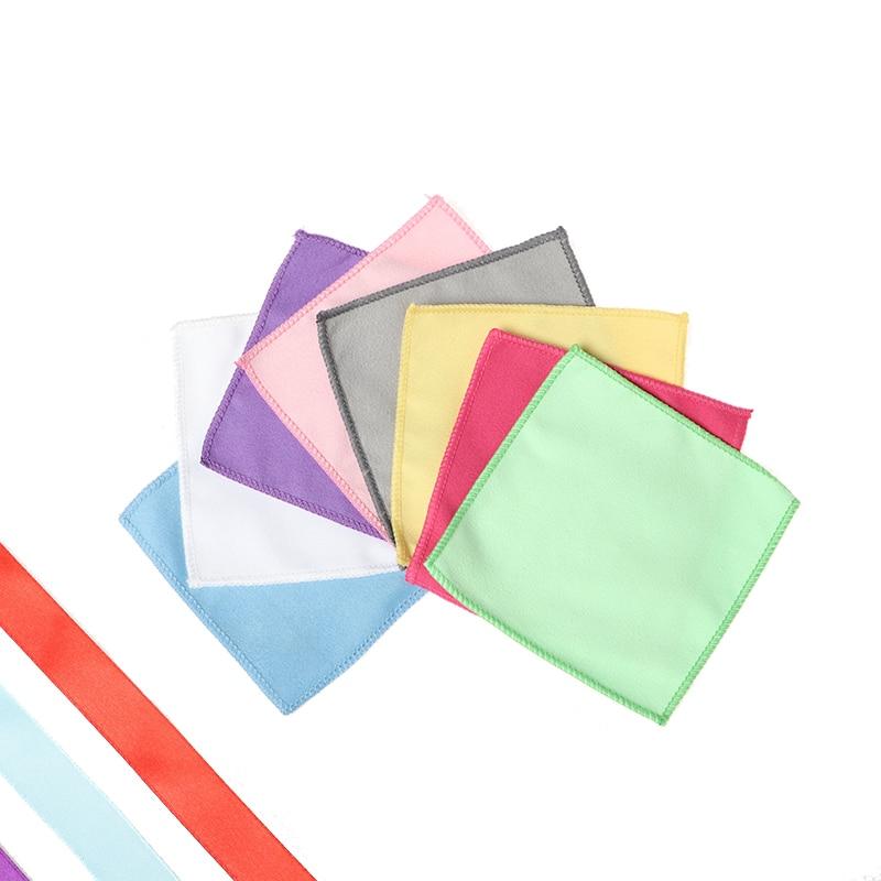 10pcs Small Polishing Cloth For Toddler Clean Cloth Mini Fleece Rag For Kids Basic Skill Practical Montessori Materials Equipment For IC Classroom Kindergarten Preschool Early Education