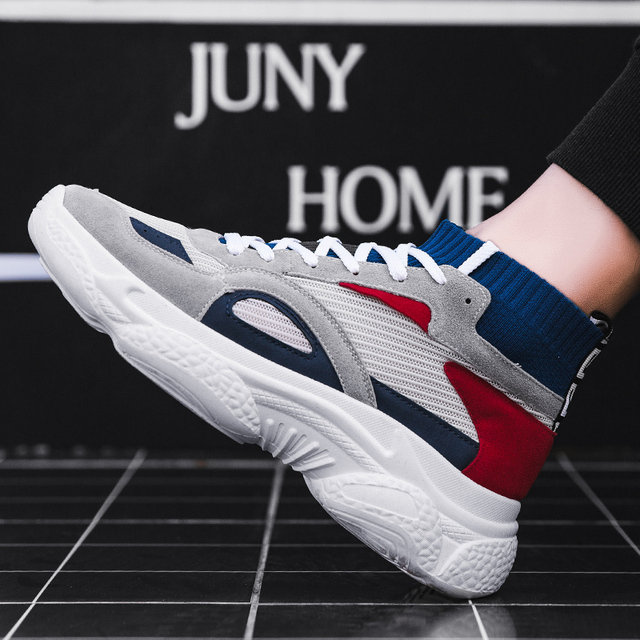 2019 Mens Shoes Casual Sneaker Fashion Sneakers Men Trainers Tenis Masculino Adulto Zapatillas Hombre Deportiva Chaussure Homme