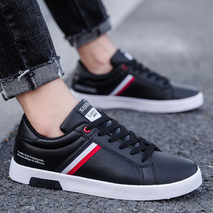 Image 5 - High Quality Brand Men Casual Shoes Hot Sale Spring Autumn New White Shoes Men Casual Breathable Fashion Casual Men Shoes Black