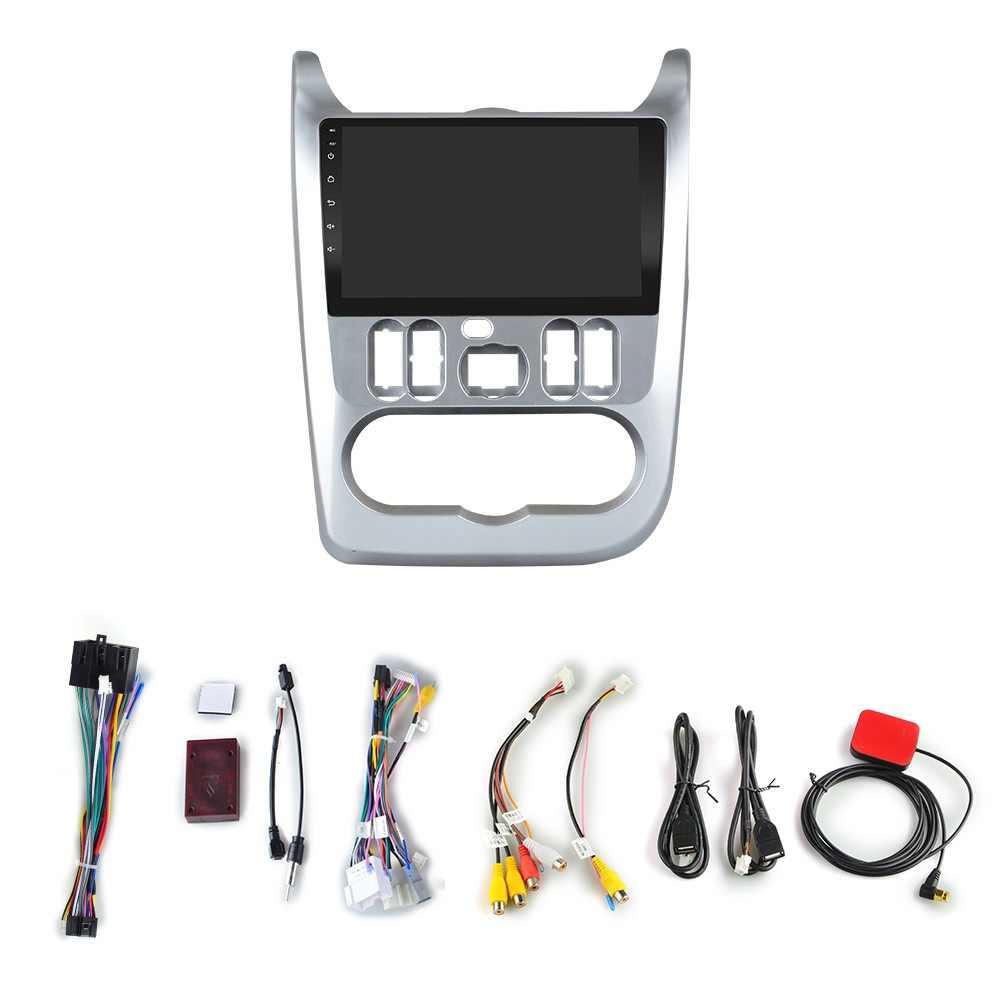 """2G + 32G 9 """"2din Android 8.1 GO araba DVD OYNATICI Renault Logan için I Sandero Lada Lergus dacia Duster araba radyo GPS WiFi oynatıcı"""