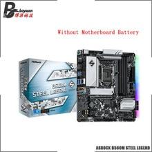 ASROCK B560M de acero leyenda Micro ATX Intel B560 4800 +(OC) 128G USB 3,2 SATA M.2 el apoyo de 10 / 11 gen LGA 1200 CPU placa base