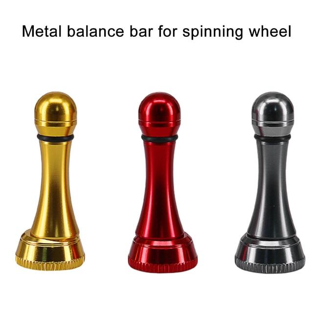 Metalen Balans Bar Spinning Reel Balancer Vis Rotary Reel Crank Vervanging Vissen Accessoires Gomexus Reel Vissen Reel Stand