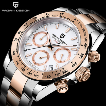 PAGANI DESIGN 2020 New Men's Watches Luxury Mens Quartz Wrist Watch Men Stainless Steel Watch Men Chronograph Relogio Masculino fashion quartz watch men watches top brand luxury male clock stainless steel watches mens wrist watch hodinky relogio masculino