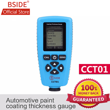 BSIDE RUSSIAN EDITION CCT01 Digital Coating Thickness Gauge Automotive Paint Tester F/N Probe 2000um/51.2mils with USB Interface bside cct01 digital coating thickness gauge meter width measuring instruments f n probe tester 1300um 51 2mils