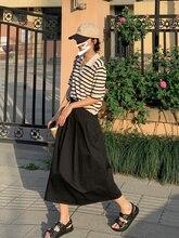 New Hepburn French Umbrella Skirt In 2021 Summer
