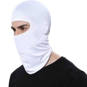 Image 5 - Balaclava Face Mask Motorcycle Tactical Face Shield Breathable Mascara Ski Mask Cagoule Visage Full Face Mask Gangster Mask