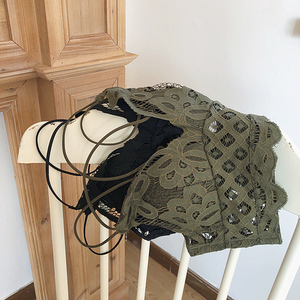 Image 3 - เพียง Bra,ดอกไม้ Hollow OUT Brassiere เซ็กซี่ลวดผู้หญิงเซ็กซี่ bralette ชุดชั้นในสบายชุดชั้นใน pullover Bra