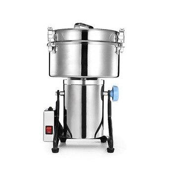 4500g электрический шлифовальный станок для мукомольного завода 220v/110 в коммерческих целях пульверизатор травяной Кофейные зерна шлифовальн...