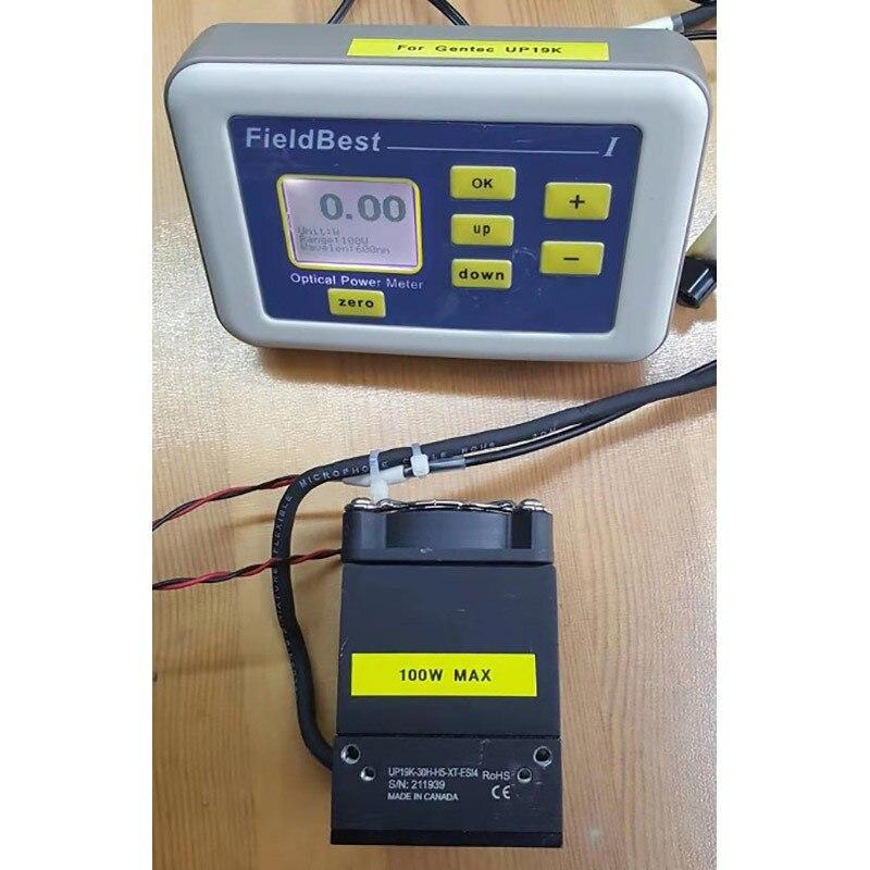 Medidor de Energia Laser 0.01w Resolução de