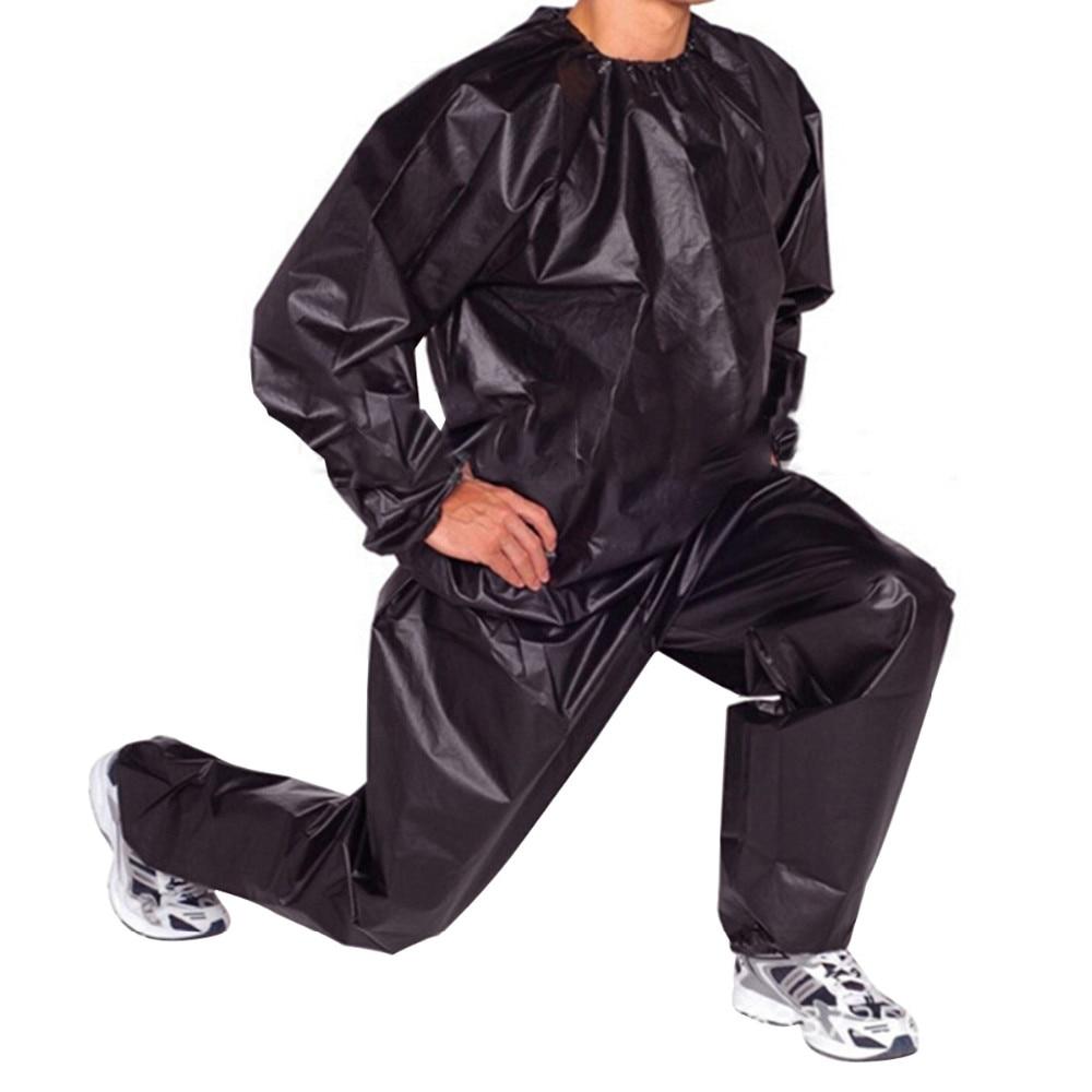 Schwerer Schweiß Saunaanzug Fitness Fitness Übung Fat Burn Trainingsanzug