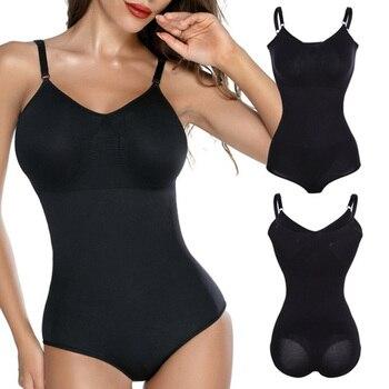 Bodysuit Shapewear Women Full Body Shaper Waist Trainer Stomach Slimming Underwear Faja Belt Tummy Control Shaper Trimmer 1