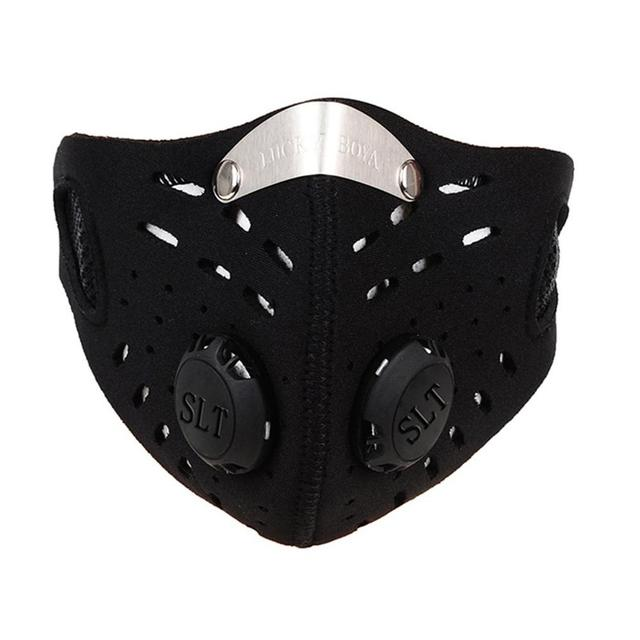 Hot Sale Mask Cycling Dust Mesh Mask Activated Carbon Filter Dust Odor Mask Anti-fog Electric Mask Face Dust Mask 2