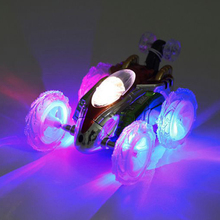 360 Tumbling Electric Controlled RC Stunt Dancing Car Flashi