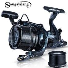 Full Metal Fishing-Tackles Sea-Spinning-Reel Sougayilang Eva-Handle Power-Carp Drag 13