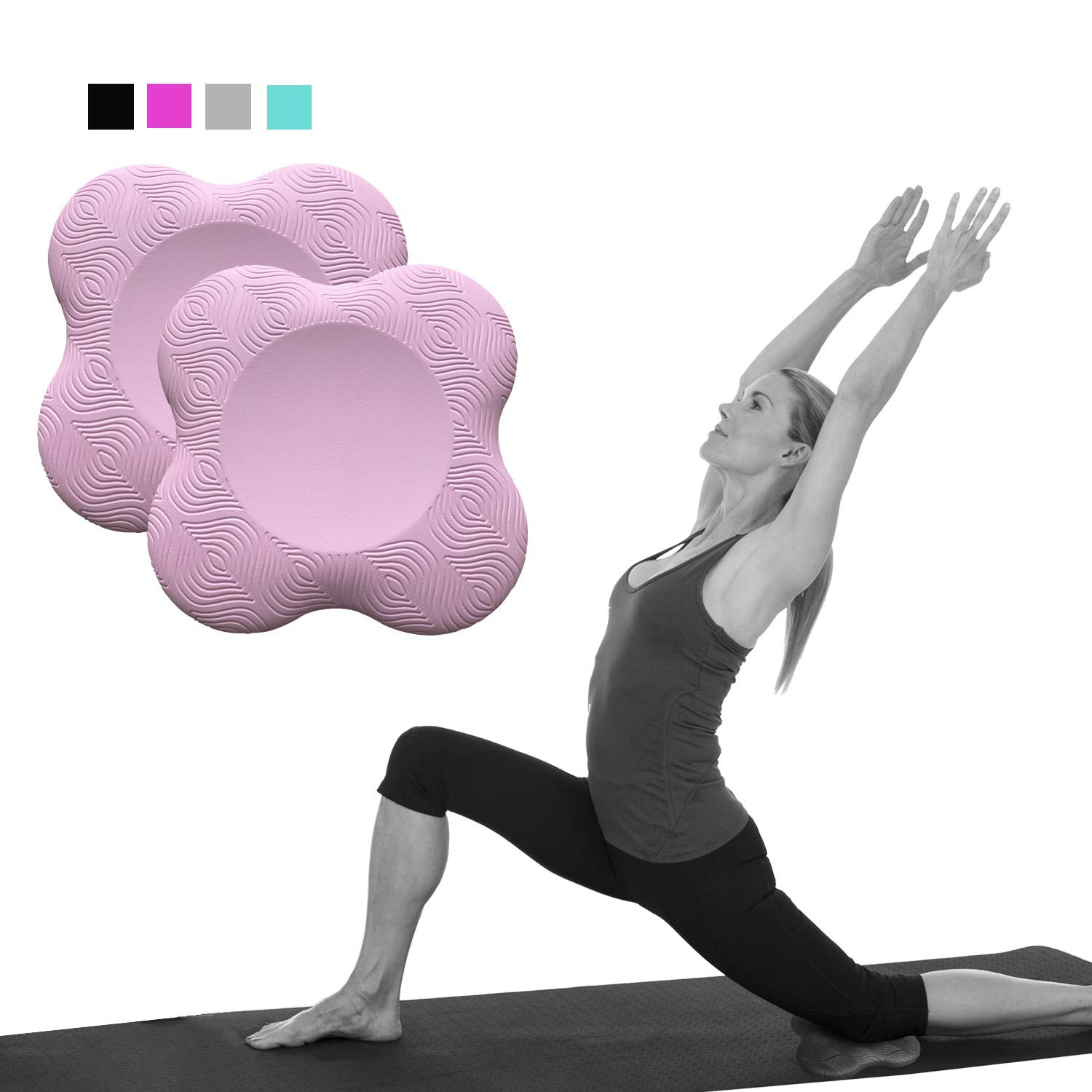 Yoga Knee Pad Support For Yoga And Pilates Excercise, Cushion For Knees,Elbow And Head For Knees, Elbow, Hand, And Head