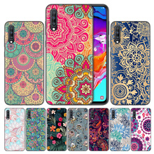 Floral Mandala Phone Case Cover For Samsung