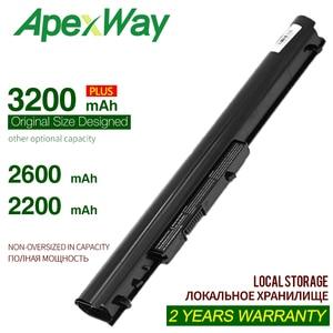 ApexWay батарея HP oa04 oa03 HSTNN-LB5Y HSTNN-LB5S для HP 240 G2 для HP CQ14 для HP CQ15 Compaq Presario 15-h00