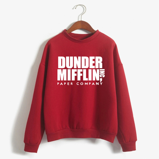 Tops The Office Tv Hoodie Men Women Dunder Mifflin Inc Paper Company Wernham Hogg TV Show Michael Scott Space Sweatshirt 4