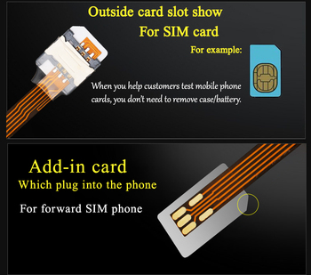Multifaction  Big SIM card to SIM card adapter Trade equipment Mobile Backup sim Gsm usb Sim cloner недорого