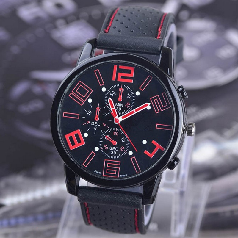 For 9-18 Year Old School Student Sports Watch Sports Children's Wrist Watches Big Dial Hour Sports Car Style Kid Boy Man Quartz