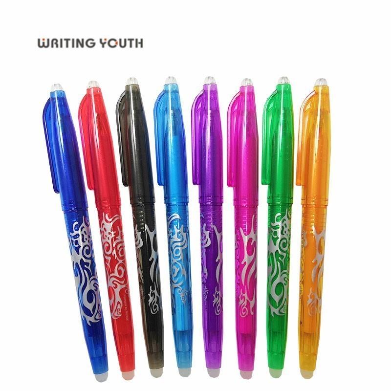 5pcs/set 0.5mm Erasable Pen Magical Writing Neutral Pen Gel Pen Colors For Choose
