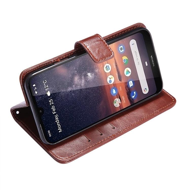 Shenzhen Anpassbare Nokia3. 2 telefon Fall Leder Telefon Abdeckung Crazy Horse Muster Karte Instert Brieftasche Telefon Fall