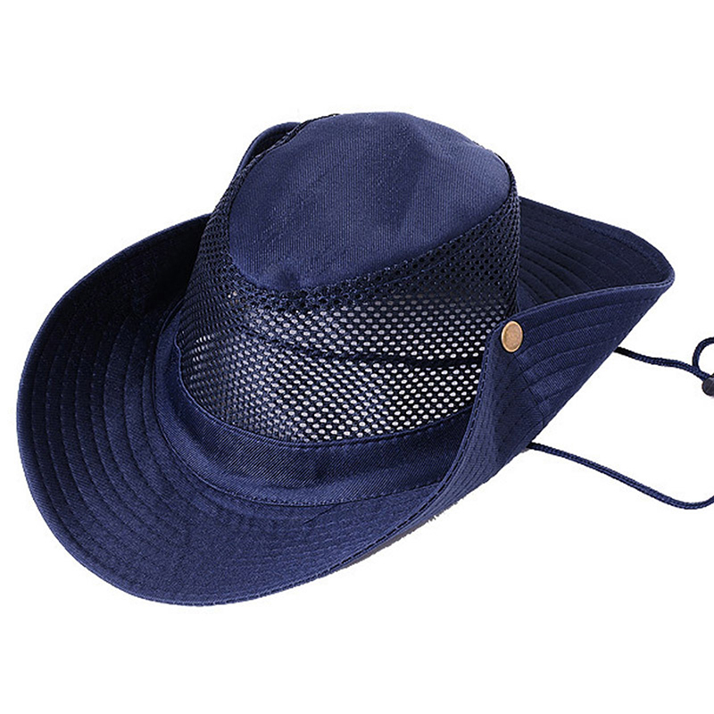 2019Newest Outdoor Shade Fisherman Hat UV Protection Comfortable Breathable 5 Colors Outdoor Tourism Hiking Camping Fishing Cap