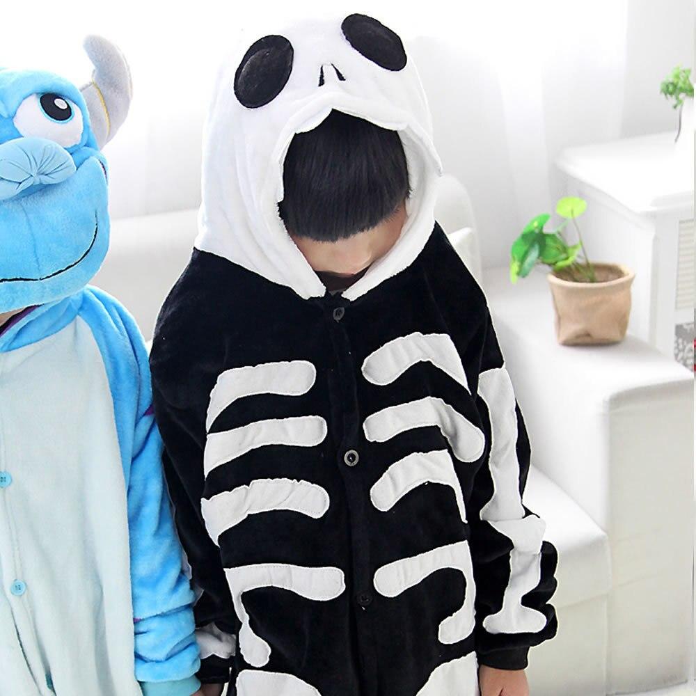 Children Sullivan Flange Nap Blame Animal One-piece Pajama Long Sleeve Cartoon Tracksuit Autumn & Winter Plush
