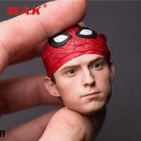 SSH-0011/6 escala coleccionable, escultura de cabeza de Peter, Little spider