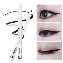 Crayon de maquillage noir pour les yeux, liquide à séchage rapide, sans imperméable, résistant à la sueur, Eyeliner pour femmes, cosmétique, maquillage de beauté, longue durée