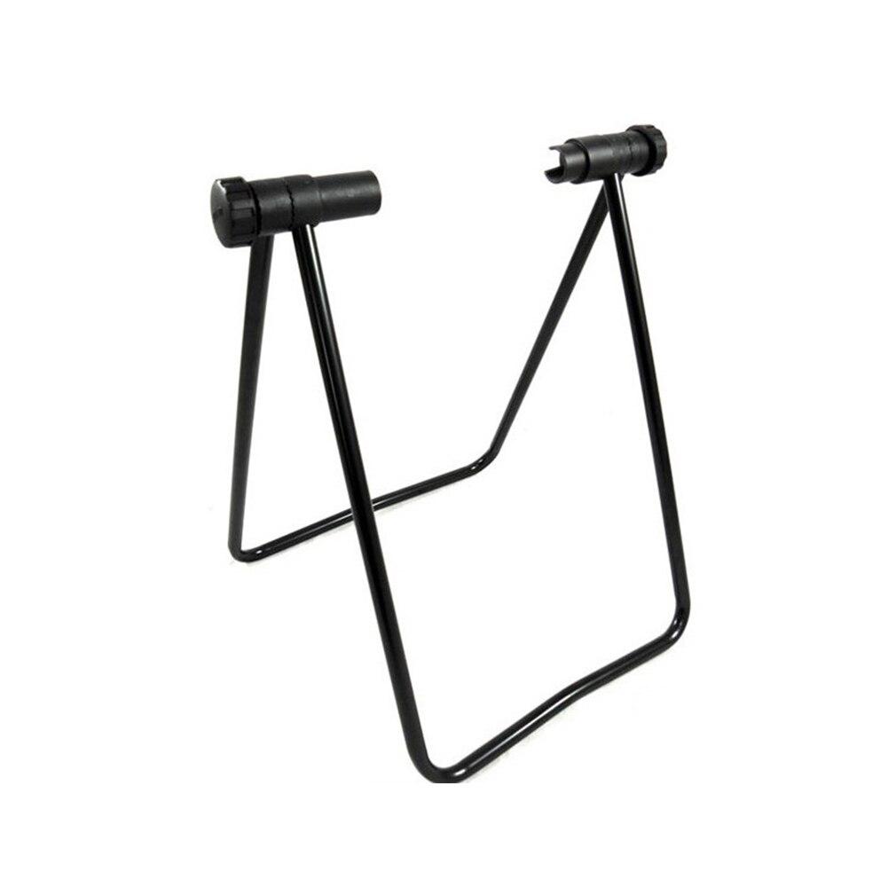 U-type Bike Cycling Support Bracket Adjustable Stand Side Bracket Fixed Gear Bicycle Alloy Parking Frame Bike Repair Rack
