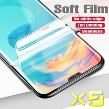 Soft Film for OnePLus 6T 7t Pro 5 5T Hydrogel Film OnepLus 6t/7t Pro Screen Protector for OnePLus 6t 7 Soft Film Full Cover