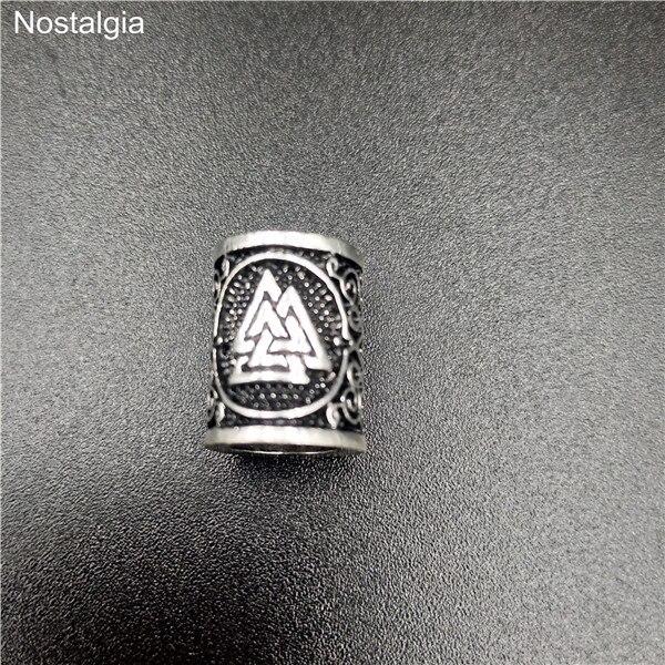 Viking-Hair-Rune-Beads-For-Jewelry-Making-Valknut-Vegvisir-Compass-Trinity-Metal-Spacer-Large-Hole-Bead.jpg_640x640 (5)