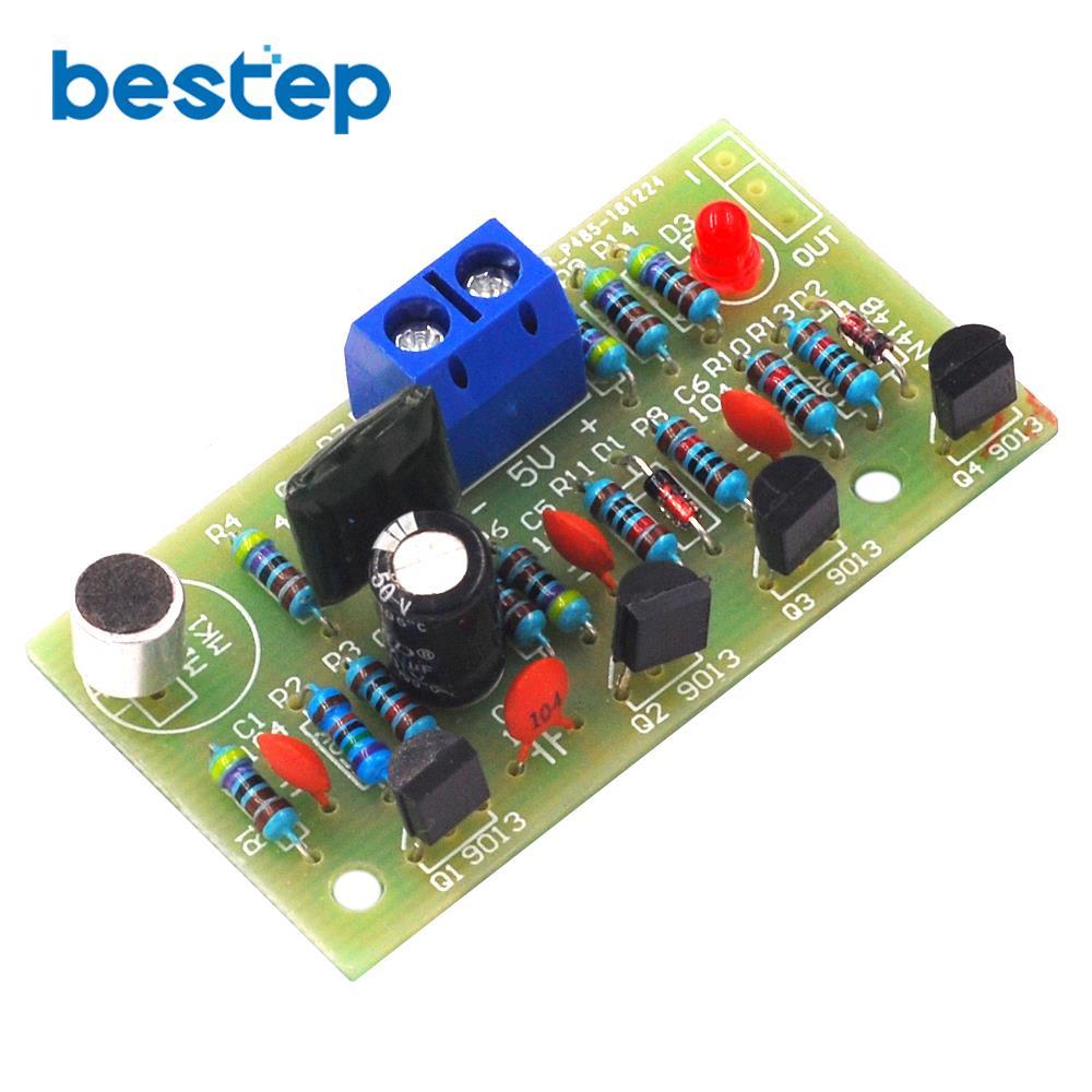DIY Акустический переключатель управления, набор электронных плат для Arduino Интегральные схемы      АлиЭкспресс