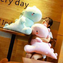 30/40/50/60cm Ultra Soft Lovely Dinosaur Doll Huggable Pink/Blue Stuffed Dino Kids Huggable Animals Plush Toys gifts