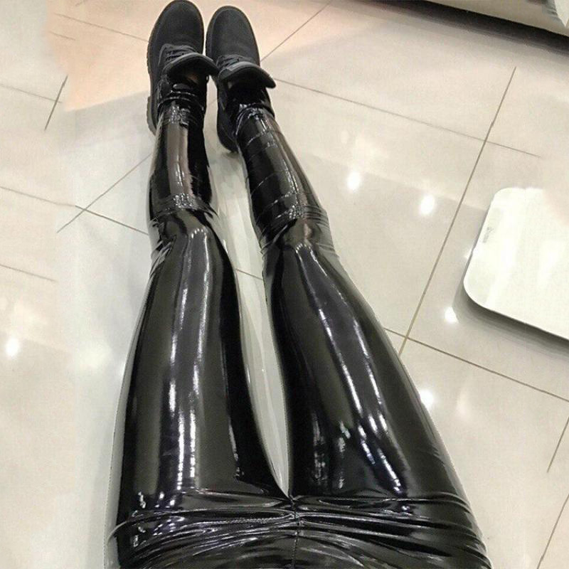 NORMOV-PU-Leather-Black-Pants-Leggings-High-Waist-Women-Sexy-Elastic-Skinny-Push-Up-Leggings-Stretch (1)