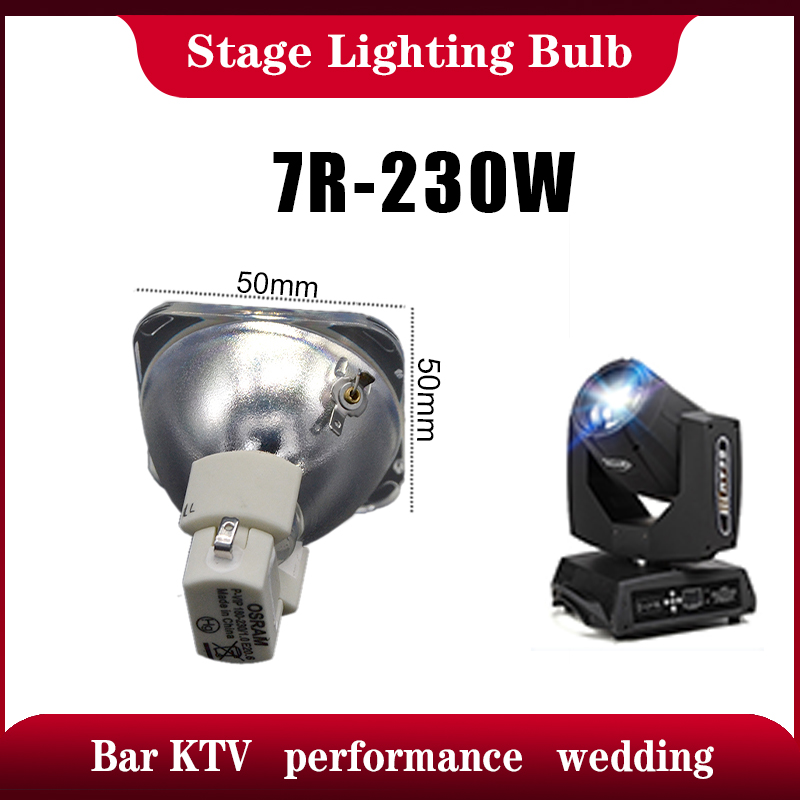 P-VIP 180-230/1.0 E20.6 Moving Head Beam Light Bulb 7R Lamps