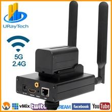 En iyi HEVC H.265 H.264 AVC WIFI HDMI IPTV Streaming Encoder için canlı yayın yayını ile RTMP desteği Wowza Youtube Facebook