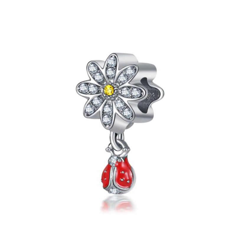Fit Pandora Charms Silver Plata De Ley 925 Original 2019 Bracelet Beads for Fashion Jewelry Making Bijoux Sieraden Charm