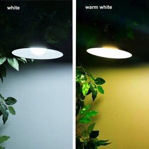 Image 2 - Luminária led de emergência solar, duas cabeças, para áreas externas/internas, à prova d água ip65, para acampamento, jardim, casa, barraca, lustre